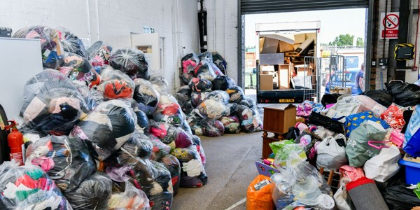 The Greenhouse Donation Centre will not be taking any more donations until Monday 29th June