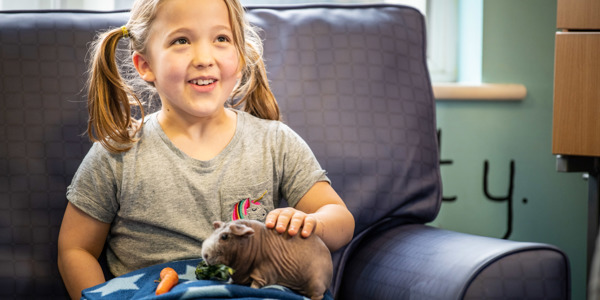 A half term with furry friends for the children at our Ashdown Centre