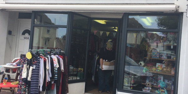 Outside of the Worthing Scope South Farm Road charity shop