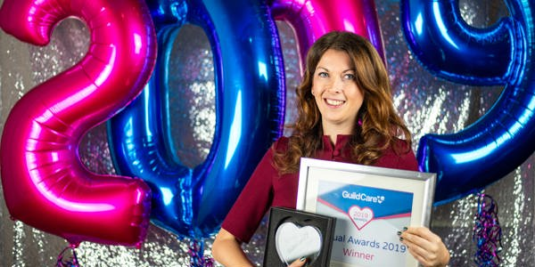 Leanne Jones, winner of the Central Services award