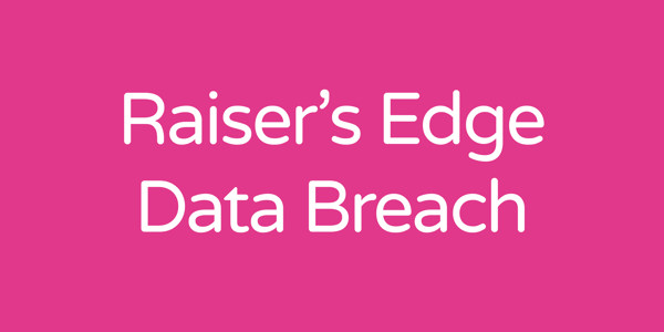 Raiser's Edge data breach