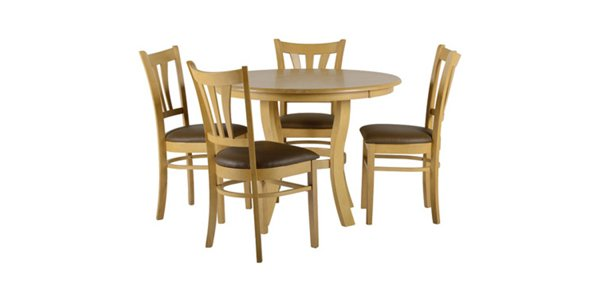 A table and chair set in the Grosvenor style